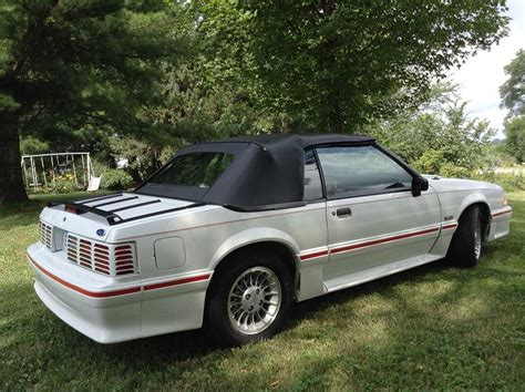 Ford Mustang 5 0 For Sale by 1989 Ford Mustang Gt Convertible V8 5 0l Automatic For