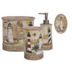 lighthouse bathroom accessories i am replacing my blue lighthouse shower curtain with this