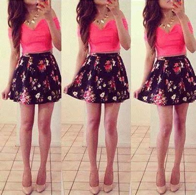 Lnice Flower Top Skirt 2014 adorable beautiful clothing