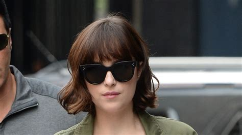 cheap haircuts johnson city tn dakota johnson upgrades her bob with springy curls vogue