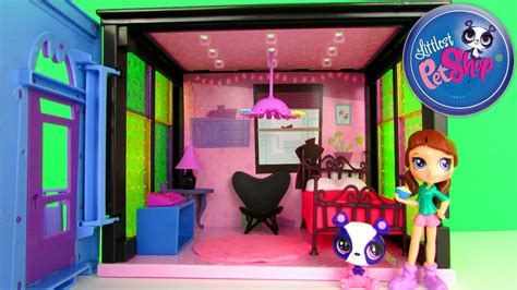 littlest pet shop bedroom littlest pet shop blythe bedroom playset fun family toy review unboxing hasbro with