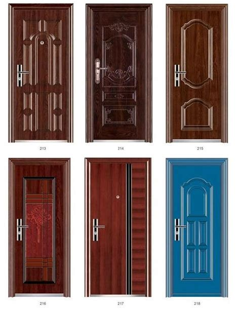 Steel Door Suppliers by China Exterior Security Steel Door Manufacturers