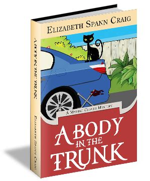 a in the trunk a myrtle clover cozy mystery volume 12 books cozy mystery author elizabeth spann craig