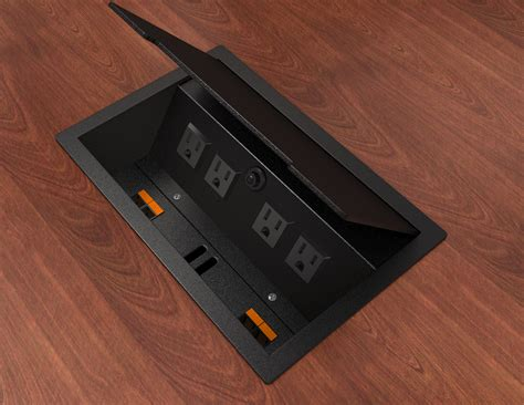 Boardroom Table Power And Data Modules Wow Electric Outlets Usb Charging And Data Modules Enhance Your Conference Table