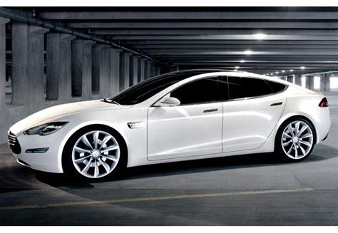 Tesla Car Performance Tesla Model S Performance Battery Powered Sedan