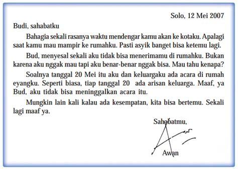 menulis surat pribadi rumah shaleh