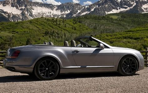bentley sports car convertible 2010 bentley continental supersports convertible