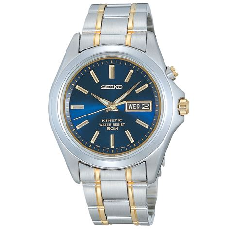 Jam Seiko Kinetic Gold Silver buy automatic watches page 19