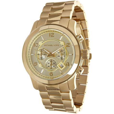 michael kors mk8077 gold tone s mumer watches