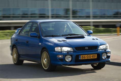 subaru impreza turbo autoweek top 50 subaru impreza gt turbo 555