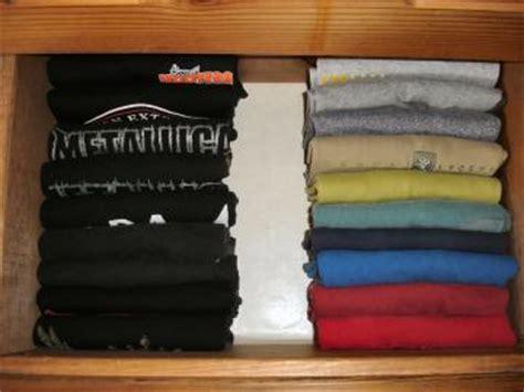Shirt Drawer Organizer by Organize Your Bedroom Dresser Drawers