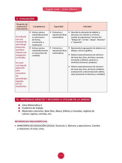 sesiones de aprendizaje unidad didactica 7 documentos primaria sesiones matematica segundo grado