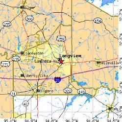 Longview Tx To Tx Longview Tx Population Data Races Housing