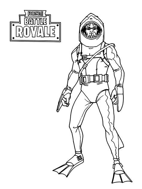 - Coloriage Fortnite Battle Royale - Coloriages pour enfants