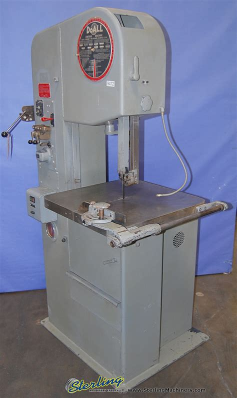 Doall Vertical Bandsaw Sterling Machinery