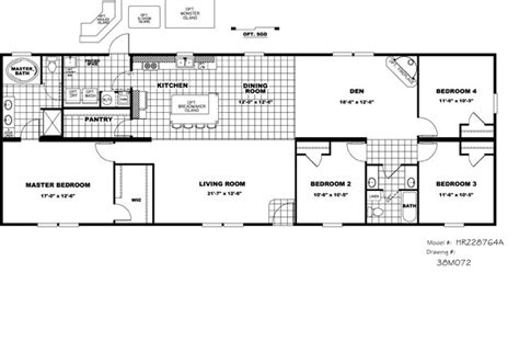 clayton double wide mobile homes floor plans clayton 4 2 doublewide manufactured home home plans