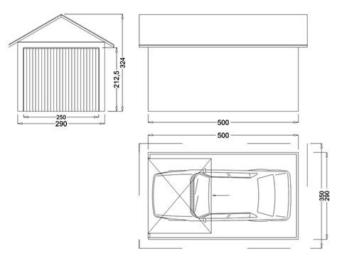 Dimension Box Garage by Garage M 233 Tallique 2 Pentes Cr 233 Pis 1 Porte Fourniture