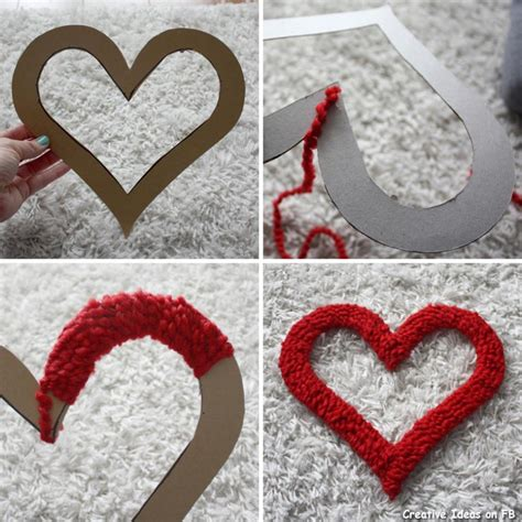 Heart Decorations For The Home by Valentine Days Outside Diy Maroon Hearts Wall Decoration