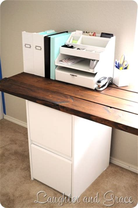 Diy Desk Drawers Diy Desk You Could Make The Top From Pallet Wood Look At Ikea For White Drawers Take A