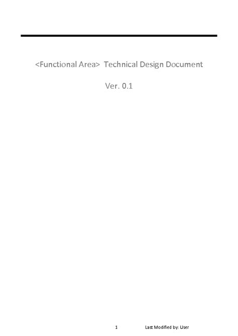 integration design document template welcome to docs 4 sale