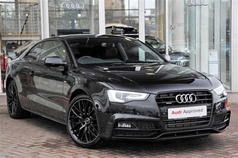 Audi A5 Black by Audi A5 Coupe White Black Rims Www Pixshark Images