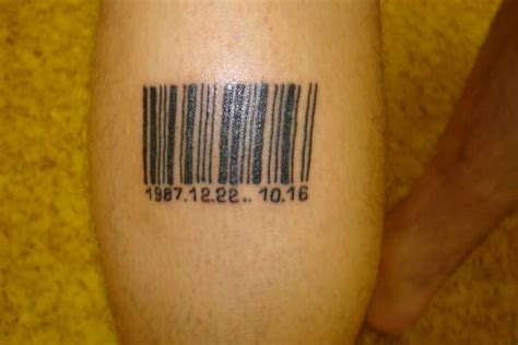 barcode tattoo cover barcode tattoo