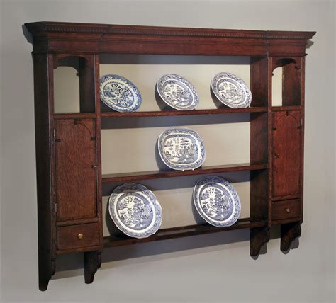 antique oak delft rack antique shelves antique dresser