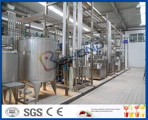 Extended Shelf Milk Processing by 10000lpd Uht