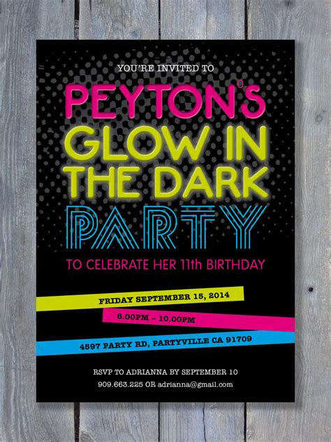 black light party invitations black light party invitations theruntime com