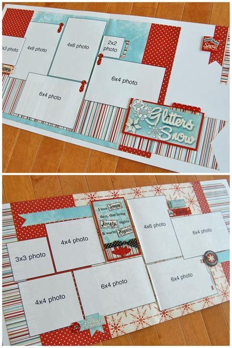 scrapbook layout with 6 photos scrapbook generation six new layouts kits