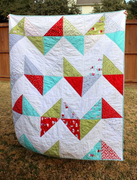 best printable fabric for quilts my fabric relish easy peasy chevron quilt