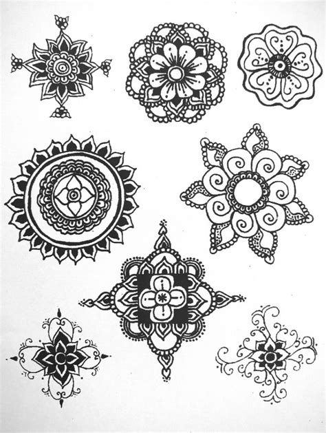 henna patterns on paper www pixshark com images