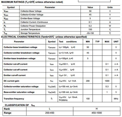 transistor d2012 datasheet npn transistor w16 datasheet 28 images mmun2235 1145238 pdf datasheet ic on line bc548 npn