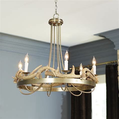 ballard designs chandelier antler 6 light chandelier ballard designs