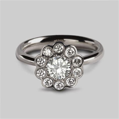 Bounchem Clusters 150 Pcs cluster ring in platinum diamonds unique engagement rings stephen einhorn