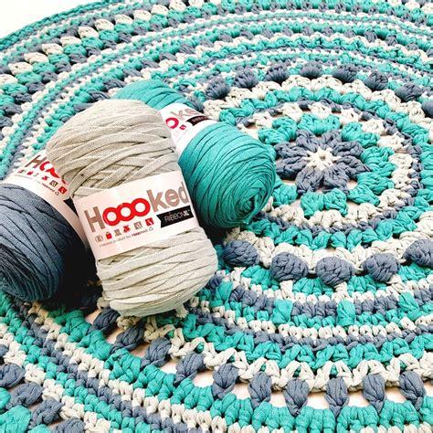 diy knit rug diy crochet pattern ribbonxl rug maritparit hoooked