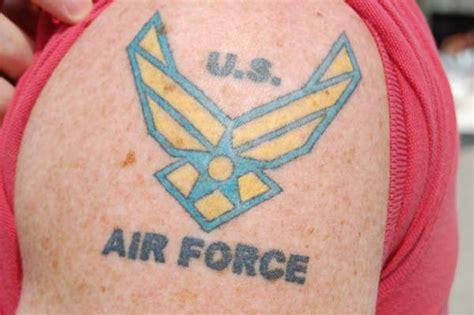 tattoo behind ear air force the new military pictures youtube thread now