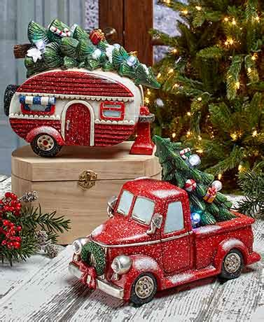 red christmas vintage pick ups for sale vintage lighted accents the lakeside collection