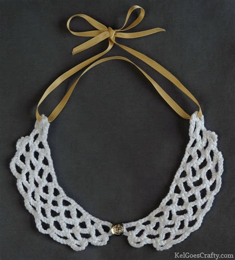 collar pattern pinterest makin this peter pan crochet collar yarn and thread