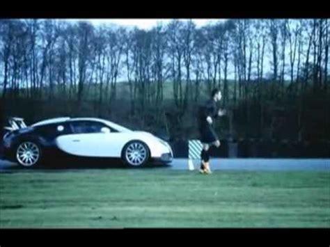 Ronaldo Vs Bugatti Nike Commercial 2008 Cristiano Ronaldo Vs Bugatti Veyron