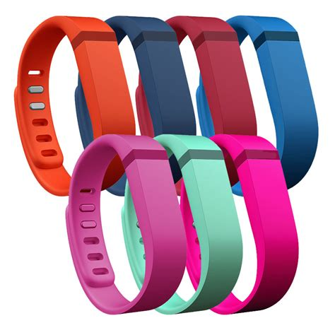 Fitbit Flex Wireless Activity and Sleep Wristband (Slate with Tangerine Bands): Pedometersusa.com