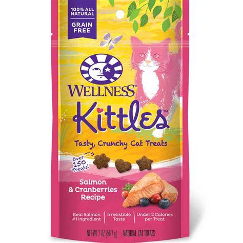 wellness treats wellness kittles salmon cranberry cat treats petco
