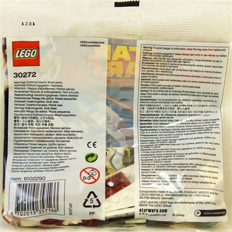 Sealed New Lego 30272 Polybag A Wing Starfighter lego wars sets mini 30272 a wing starfighter new