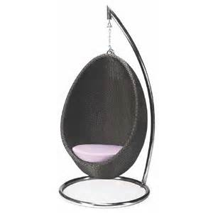 patio hanging egg chair nuevo hanging egg swing patio chair nv hgga466