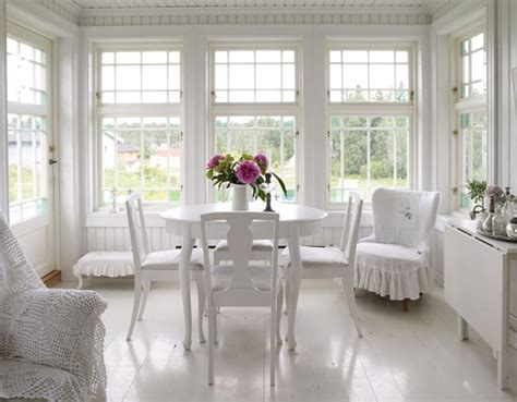 white dining room white dining room with beatuiful flower decor interior design ideas