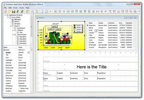 free database app database application builder free freeware version 2 4 by