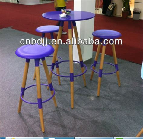 unfinished wood bar stools wholesale round solid wood bar table coffee table and chair for bar