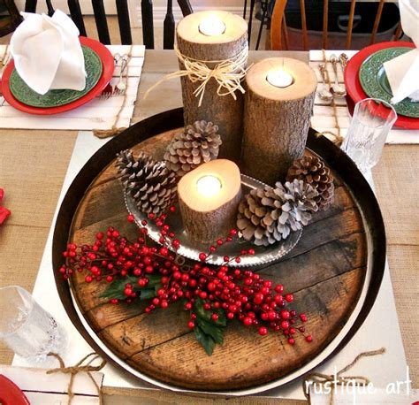 rustique art rustic holiday decor more
