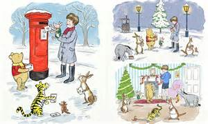 Serutanrautan Winnie The Pooh 2 In 1 winnie the pooh s reminder of britain s best festive traditions daily mail