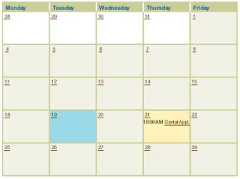 Calendar 7 Day Week Do You A Posting Schedule